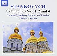 Yevhen Stankovych: Symphonies Nos. 1, 2 & 4 by National Symphony Orchestra of Ukraine