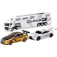 3つセットTomica Toys R Us限定トランスポーターレクサスGazoo Racing + No。107レクサスis F ccs-r + Tomica PremiumレクサスRC F gt500