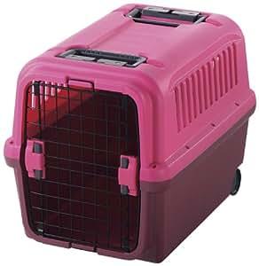 リッチェル キャンピングキャリー L (中型犬用) ピンク