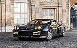 絵画風 壁紙ポスター (はがせるシール式) フェラーリ テスタロッサ ピニンファリーナ 1987年 スーパーカー キャラクロ FTSR-004W1 (ワイド版 921mm×576mm) 建築用壁紙+耐候性塗料 - 5,350 円