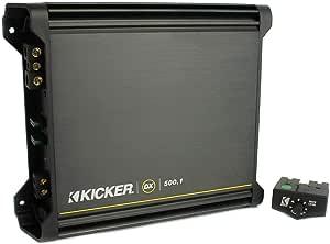 キッカー モノラルサブウーファーアンプ 2Ω×1500ワット  DX500.1 Kicker社【並行輸入】