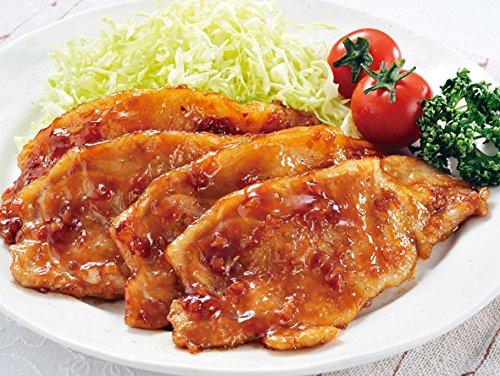 おのみちサンポーク【冷凍】 国産 瀬戸内六穀豚 生姜焼きローススライス300g(たれ漬け)