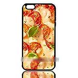 iPhone6 6Sピザ チーズ トマト アートケース 保護フィルム付 【ノーブランド品】