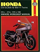 Honda CX/GL500 & 650 - V-Twins: 497cc-673cc., 1978 to 1986 (Owners' Workshop Manual)