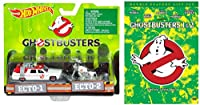 Ghostbusters 1 & 2 Double Feature DVD with Hot Wheels Ghostbusters 2-Car Die Cast Set