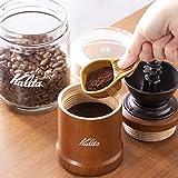カリタ Kalita コーヒーメジャー 陶器製 パステルブラウン #44005 画像