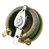 uxcell 可変抵抗器  交換セラミックディスク レオスタット 抵抗電気巻線型 100W 5Ohm