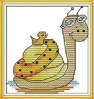LovetheFamily クロスステッチキット 日本語解説書 DIY 手作り刺繍キット 正確な図柄印刷クロスステッチ 家庭刺繍装飾品 11CT ( インチ当たり11個の小さな格子)中程度の格子 刺しゅうキット フレームがない 漫画シリーズ