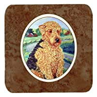 Set of 4 Airedale Terrier Foam Coasters 7096FC