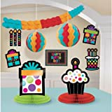 Party On Polka Dot Happy Birthday Assorted Room Decorating Kit , Pack of 10, Multi , Assorted Sizes, Paper [並行輸入品]