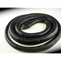 いたずらグッズ  へび 蛇 ヘビ とぐろへび 黒  おもちゃ  ゴム製 17×16㎝