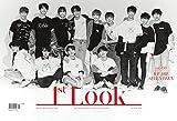 1st LOOK 155号 (2018) SEVENTEEN + 翻訳 + ポスター(SEVENTEEN) + ストラップ(メンバー指定可) + フォトカード(SEVENTEEN)【5点セット】(韓国版)