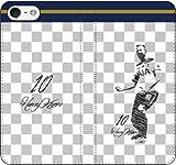 iPhone/Xperia/Galaxy/他機種選択可:サッカー/グラフィティ手帳ケース(デザイン:トッテナム/10番_01) 04 iPhone6Plus/6sPlus