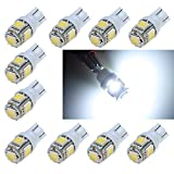 Amazon.co.jpBYOPTO 10 個(white 白T10 5SMD-type) LED SMD カー バイク ウインカー/バックアップ/リバース/マップ/インジケータ/インテリア ランプ ライト バルブ (キャンペーン商品,海外発送するため30日間の運送期間がかかる場合があります)
