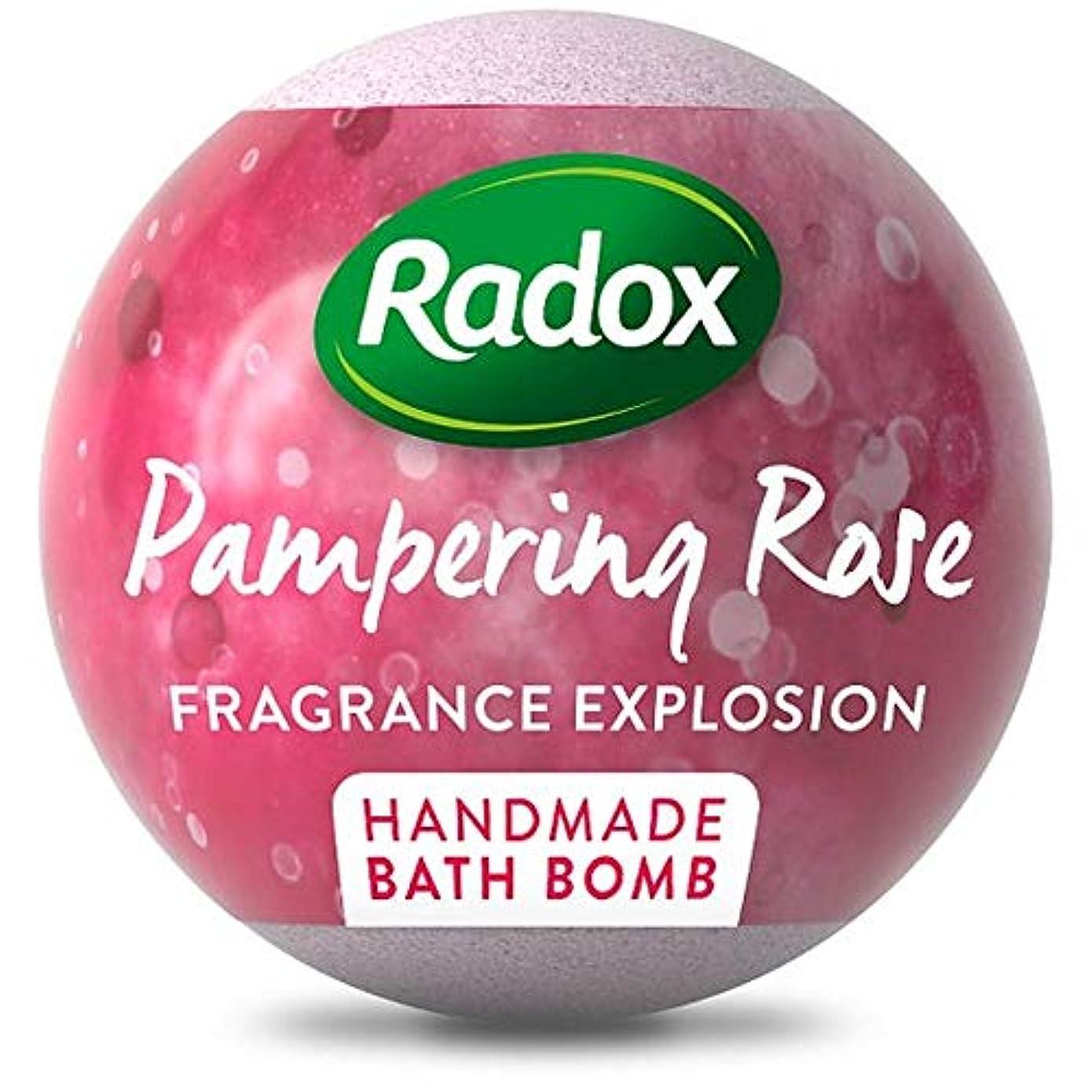 民兵収縮ひいきにする[Radox] ラベンダーを落ち着かせるRadox、バス爆弾をバラ100グラム - Radox Calming Lavender And Rose Bath Bombs 100G [並行輸入品]