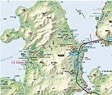 しまなみ海道とびしま海道サイクリングマップ 画像