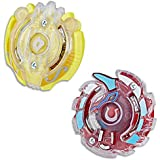 Beyblade Burst - Evolution Dual Pack - Orpheus (Defense) & Unicrest U2 (Attack) - Right Spin Battle Tops - Ages 8+