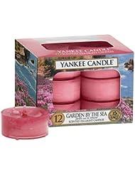 ヤンキーキャンドル(YANKEE CANDLE) YANKEE CANDLE クリアカップティーライト12個入り 「ガーデンバイザシー」