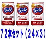 Amazon.co.jpアサヒ バヤリース さらさら毎日 おいしくトマト 350g缶 72本セット(24本×3)