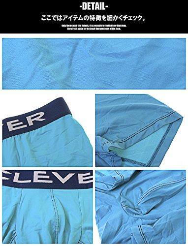 (クレバー) CLEVER Day by Day Boxer ボクサーパンツ ナイロンフィット メンズ 男性下着 ローライズ パンツ メンズ下着 インナー アンダーウェア ストレッチ フィット