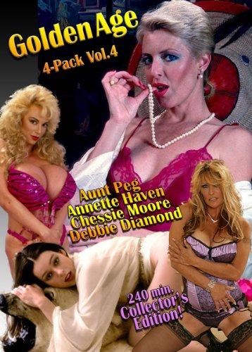 Golden Age 4-Pack Vol.4 Starring: Aunt Peg, Annette Haven, Chessie Moore & Debbie Diamond