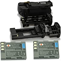 DSTE® プロ 互换 MB-D10 垂直 バッテリーグリップ + 2x EN-EL3E のために Nikon ニコン D300 D300S D700 D900 カメラ