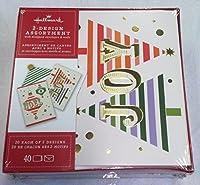 ホールマーククリスマスボックス版カードbx4829Joyツリー's and Noel Ornaments 2- Designs Assortment