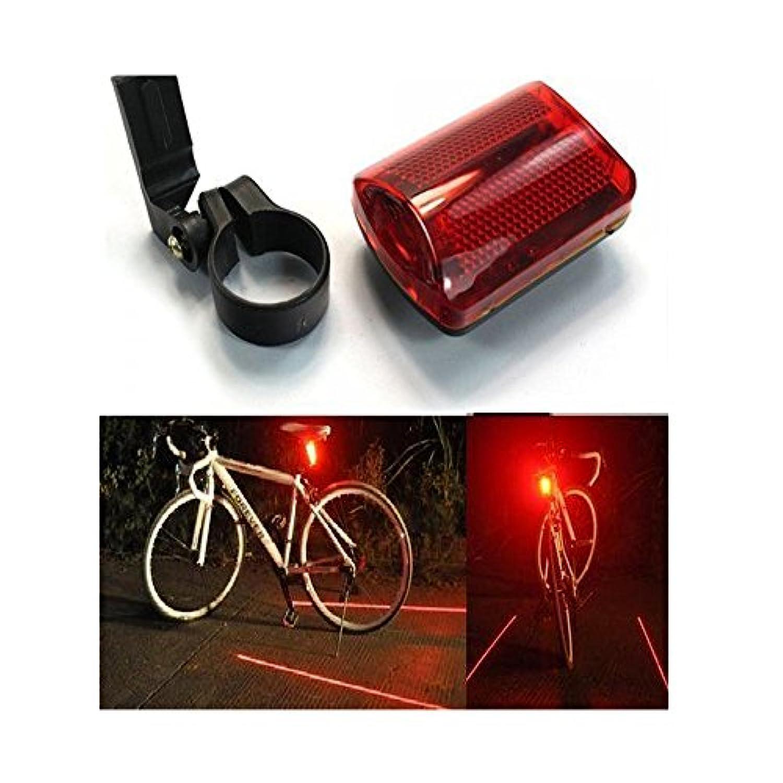 Vanki 新しい 2 パックの 5 LED 6 モード自転車後部テール赤自転車警告ランプ安全ライト