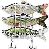 TRUSCEND Fishing Lures Swimbait Bass, 10cm 3.93