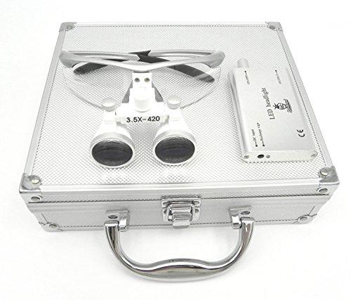 Doc.Royal双眼ルーペ(3.5X拡大鏡)+LED ライ...