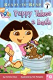 Puppy Takes a Bath (Dora the Explorer Ready-to-Read)