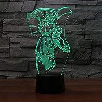 Llhyd 3dダンクバスケットボールLED錯覚ライトナイトライトテーブルランプ雰囲気装飾子供の家の装飾のためのギフトまたは他の人のためのクリエイティブギフト