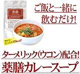 【2個セット】 薬膳 ダイエットスープカレー(ウコン配合ダイエットスープ)