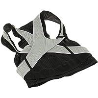 Perfk 調整可能 姿勢補正 ベルト ブレースサポート 背面腰部用 子供成人用可ショルダー グレー 全3サイズ