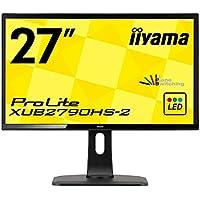iiyama モニター ディスプレイ XUB2790HS-B2 (27インチ/フルHD/AH-IPS…