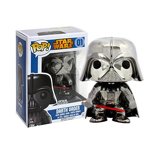 限定POP! スター・ウォーズ ダース・ベイダー クロムメッキ版 POP! - Star Wars Series: Star Wars - Darth Vader Chrome Plated Version