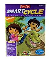 Fisher Price Smart Cycle Dora & Diego's Great Dinosaur Adventure Learning Game Cartridge [並行輸入品]
