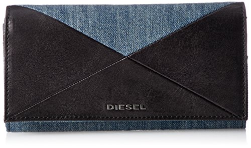 (ディーゼル) DIESELメンズ 長財布 CROSSING DENIM 24 A DAY - wallet X04992PS778 T8013 UNI