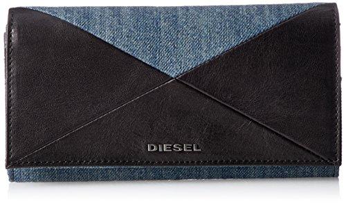 (ディーゼル) DIESELメンズ 長財布 CROSSING DENIM 24 A DAY - wallet X04992PS778 T8013 UNI