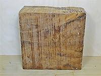 """Thuya木製23/ 4x 6"""" x 6""""ブロック、Carvingブロック、Turning Square"""