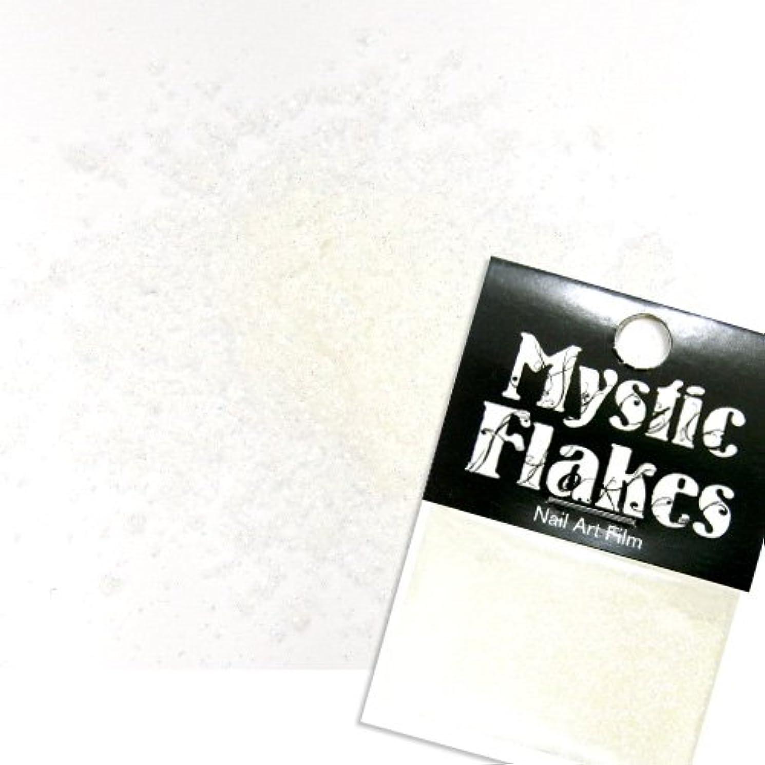 コンドーム化学者テレビミスティックフレース ネイル用ストーン オーロラホワイト ラメシャイン 0.5g