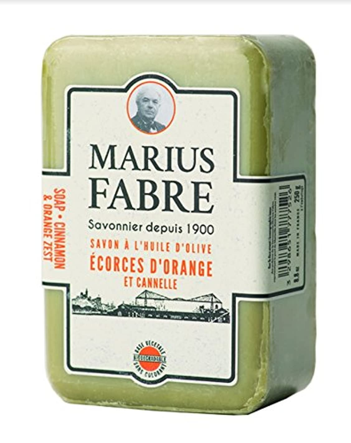 クスコ熟達したごちそうサボンドマルセイユ 1900 シナモンオレンジ 250g