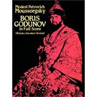 Boris Godunov in Full Score (Rimsky-Korsakov Version)