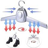 DINFO 衣類乾燥機 ハンガー乾燥機 靴乾燥機 1台2役 急速乾燥 速乾 靴用乾燥機兼用 梅雨対策 家用 旅行