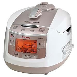 日本美健 IH式 炊飯器 クック高圧力炊飯調理器 cuckoo NEW 圧力名人 CRP-HJ0657F