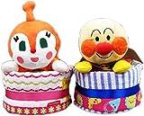1段 アンパンマンパペット フィッシャープライス ストライプ パンパースS おむつケーキ オムツケーキ 男の子  出産祝い 誕生日祝い - Best Reviews Guide