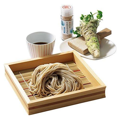 栃木・米山そば 献上日光寒ざらし蕎麦