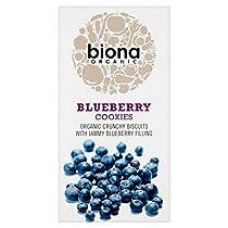 有機ブルーベリークッキー175グラムBiona - Biona Organic Blueberry Cookies 175g [並行輸入品]