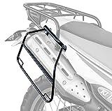 キジマ(Kijima) バイクサイドバッグサポート ブラック 左右セット ブラック セロー250 210-481
