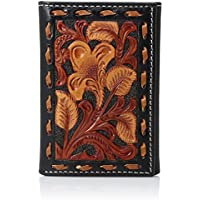 Nocona Men's Tri Stain Buck Trifold Wallet